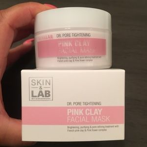 NIB Skin & LAB Pink Clay Facial Mask 100 g / 3.52